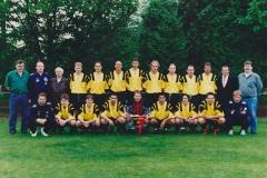 1995-96 Mannschaft Meister