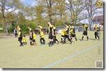 Einlauf-Kids beim Spieltag